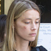 Amber Heard Seen with Black Eye Leaving L.A. Courthouse After Domestic Violence Claim Against Johnny Depp