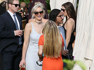 Her Best Friend's Wedding! See Stunning Jennifer Lawrence at Pal Laura Simpson's Romantic Italian Nuptials
