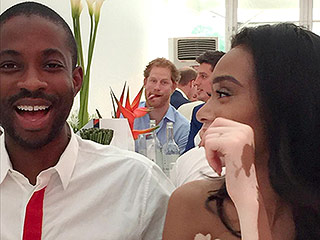 Royal Photobomb! Prince Harry Hilariously Crashes ANTM Model's Picture at Polo Match