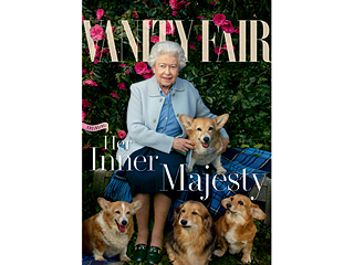 Queen Elizabeth Covers Vanity Fair – with Corgis and Dorgis!