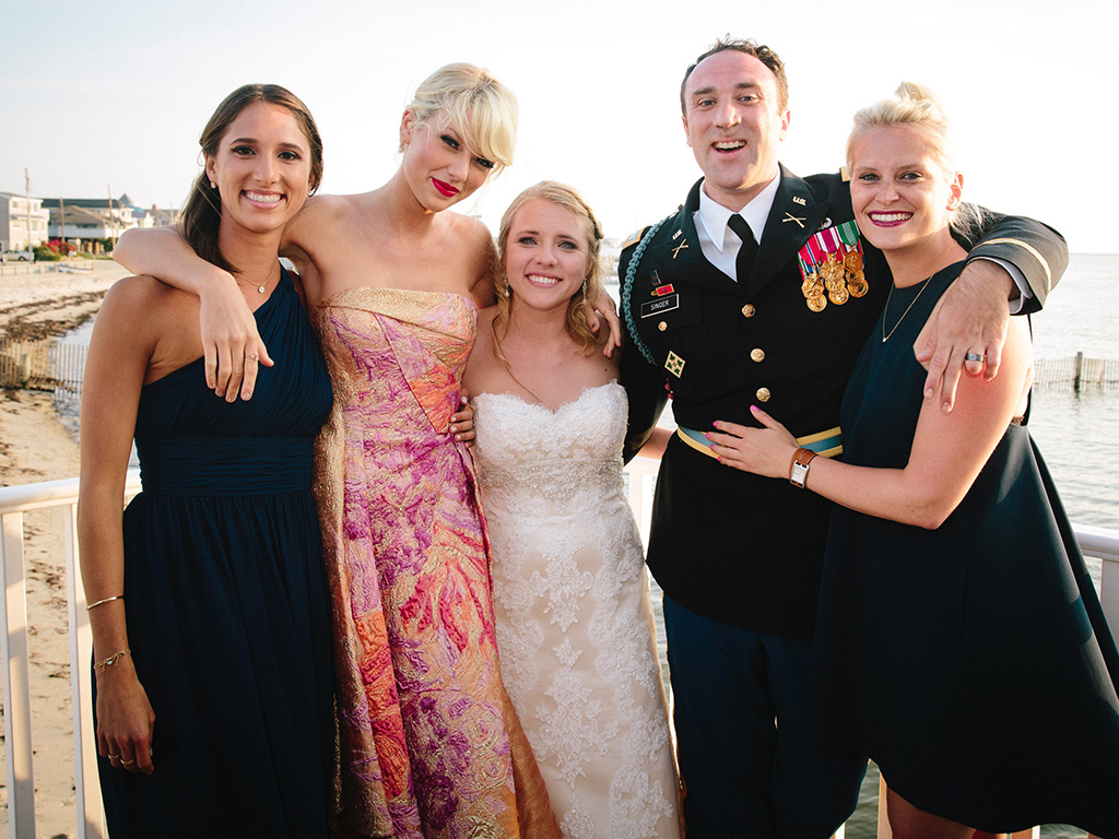 taylor swift surprises fan at his wedding peoplecom