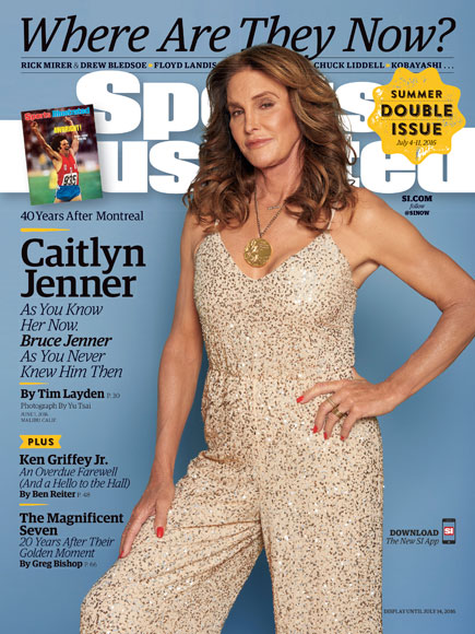 Caitlyn Jenner Poses with Olympic Medal on Sports Illustrated Cover 40 Years After Big Win
