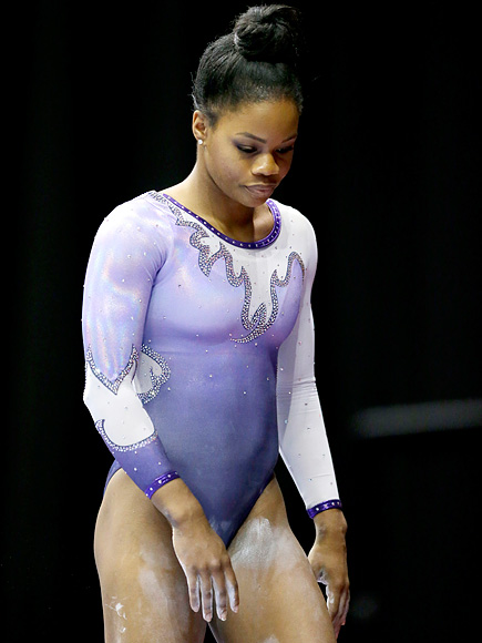Gabby Douglas Isn't Disheartened After Fourth Place Finish