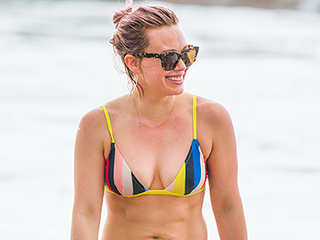 Hilary Duff Doesn't Need to 'Look Absolutely Perfect in a Bathing Suit'