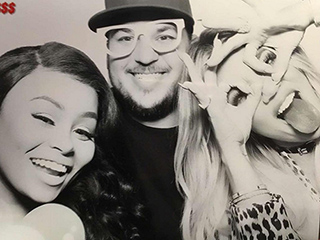 Blac Chyna and Rob Kardashian Celebrate Khloe's Birthday with Kim, Kourtney and Kylie