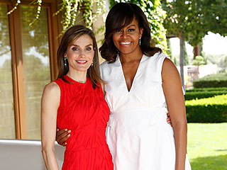 Michelle Obama Reveals She and Queen Letizia Bonded Over Raising 'Strong, Smart and Outspoken' Girls