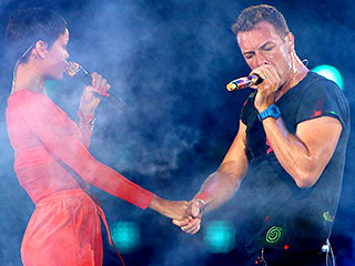 Chris Martin Compares Rihanna's Voice to a 'Beautifully Squeezed Tube of Toothpaste'