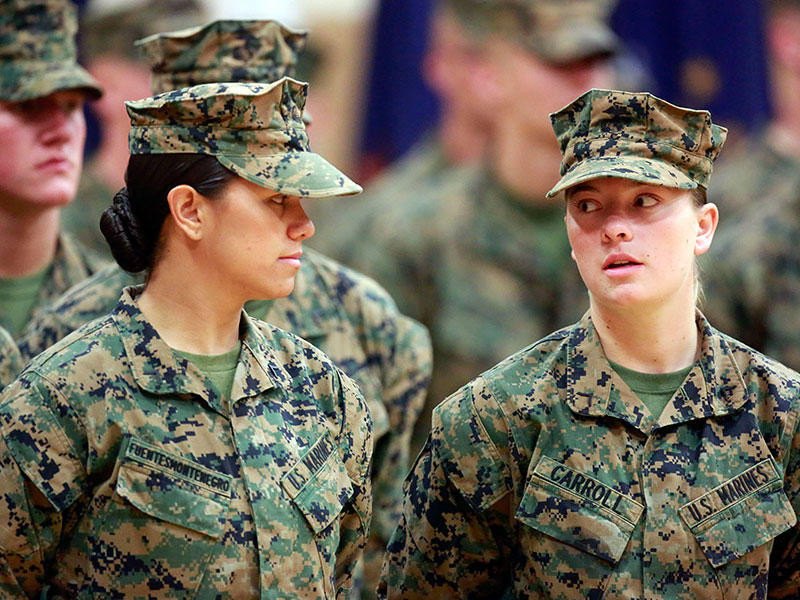 Marine Corps To Remove The Word 39 Man 39 From 19 Job Titles