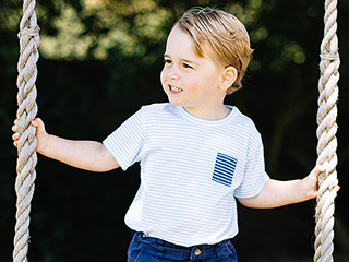 The Romantic Story Behind Prince George's Favorite Swing