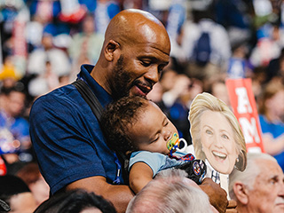 Witnessing History and Breaking Stigmas – Why This Dad Brought His 1-Year-Old Son to the DNC