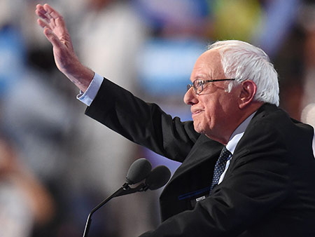 Bernie Sanders Supports Hillary Clinton in DNC Speech Amid Controversy: 'I Am Proud to Stand with Her'