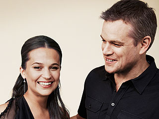 Matt Damon on His Jason Bourne Costar: Everyone Wants Alicia Vikander Right Now