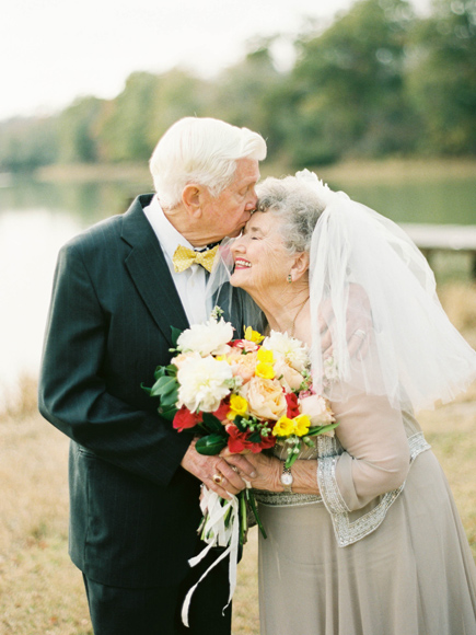 Wedding Anniversary Gifts For Older Couple : Grandparents Celebrate 63-Year Marriage with Sweetest Photo Shoot Ever