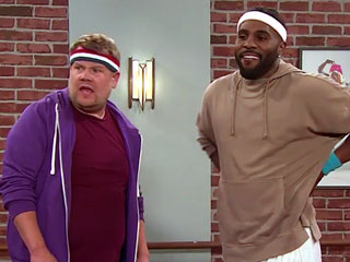 WATCH: Jason Derulo Tries His Hand at Adorable 'Toddlerography' with James Corden