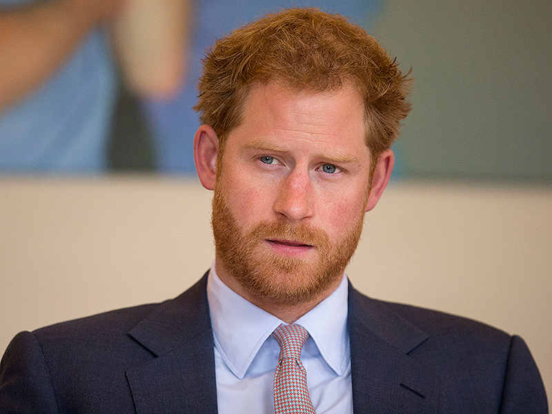 Prince Harry's Secret Visit to an HIV Hospital