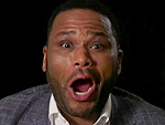 Making It Rain – and Making Sexy Faces: Anthony Anderson and Tracee Ellis Ross Practice Their Emmy-Winning Reactions