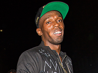 Usain Bolt Parties in London as His Jamaican Girlfriend Tweets #SelfControl