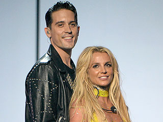 Britney Spears Shuts Down Speculation G-Eazy Went in for a Kiss at the VMAs: 'He Has a Girlfriend!'
