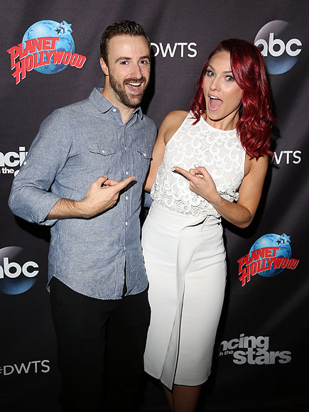 DWTS' Sharna Burgess on James Hinchcliffe's Near-Fatal Car Crash: 'He Lives for Every Moment' Now