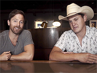 WATCH: Kip Moore and Jon Pardi Get to Know One Another Better and Show Off Their Acting Skills