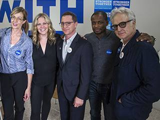 The Bartlet Administration Backs Clinton: Inside The West Wing's Passionate and Prank-Filled Campaign Trail Reunion