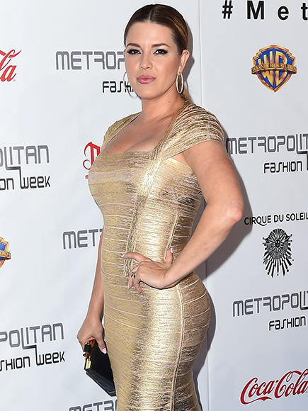 Former Miss Universe Alicia Machado Dazzles in Gold with Daughter at ...
