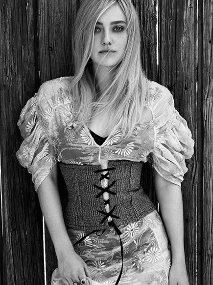 Dakota Fanning, (People/ Town & Country Magazine)