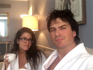WATCH: TVD's Paul Wesley and his 'Smoldeypants' Pals Ian Somerhalder and Nikki Reed Think You Should #ProbablyVote