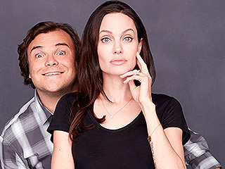 Double Talk: Angelina Jolie & Jack Black