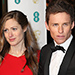 Expectant Parents Eddie Redmayne and Wife Hannah Stun (Again) on BAFTAs Red Carpet