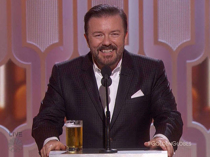 "Ricky Gervais: ""Most People Know Me as That Guy Who Insulted Mel Gibson"