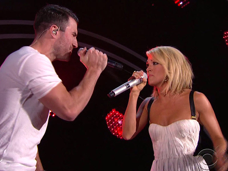 Listen to Their 'Heartbeat': Carrie Underwood and Sam Hunt Perform ...