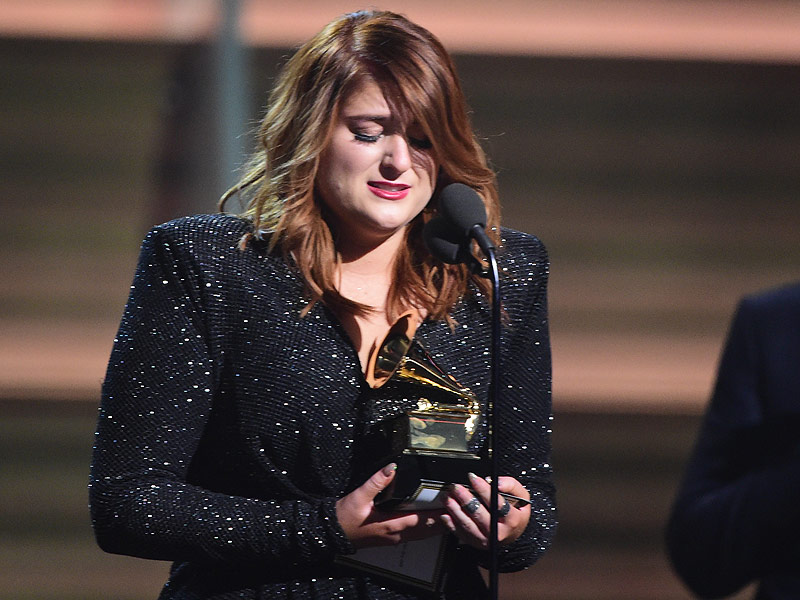 Grammys 2016: Meghan Trainor Wins Best New Artist