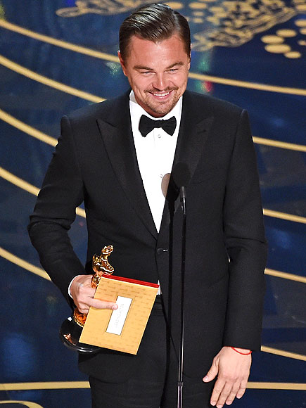 Oscars 2016: Twitter Reacts to Leonardo DiCaprio's Oscar Win