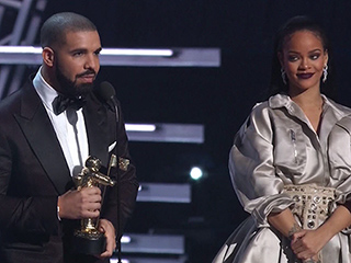 Inside Drake and Rihanna's Romantic VMAs After Party: 'He Didn't Leave Her Side'