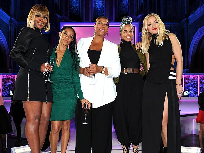 ... the word mary j blige jada pinkett smith queen latifah alicia keys Queen Latifah And Alicia Keys