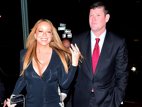 Mariah Carey on Her 35-Carat Diamond Engagement Ring: 'Can't Lift My Arm'