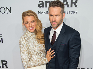 Blake Lively Dazzles in Chanel Haute Couture at amfAR Gala with Husband Ryan Reynolds