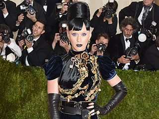 Katy Perry and Orlando Bloom Wear Matching Tamagotchis for Their Met Gala Looks!