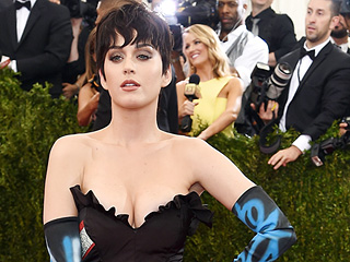 Katy Perry Feels Pressure Dressing for the Met Gala: 'I'm Sure Lady Gaga Is Going to Arrive on a Drone, and I'll Be Like,