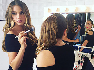 Glam Guru! Sofia Vergara Moonlights as a Makeup Artist in Her Down Time