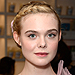 Elle Fanning's Floral Updo Is Pure #HairGoals (and What Pinterest Boards Are Made of)