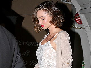 New Bling! Miranda Kerr Steps Out with Engagement for the First Time