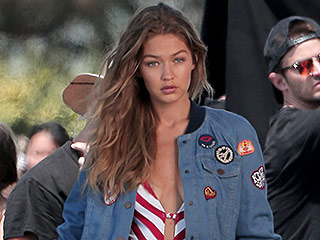 Gigi Hadid's Latest Photo Shoot Involves a High-Cut, Butt-Baring One Piece