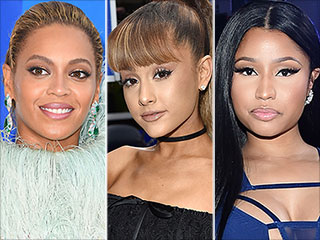 From Amped-Up Cat Eyes to Sexy, Wet Hair, Here Are the Hottest VMAs Beauty Trends