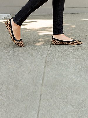 WATCH AND SHOP: Upgrade Your Flats with a Chic Leopard-Print Pair