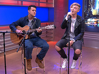 WATCH: Isac Elliot Performs His New Single 'What About Me'