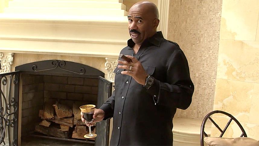 You Won't Believe How Many Cigars Steve Harvey Has!