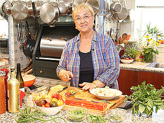 WATCH: Lidia Bastianich Takes Us Inside Her New York City Kitchen (and Garden!)