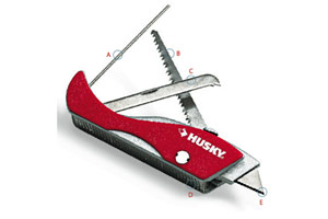 This is a photo of a knife multitool